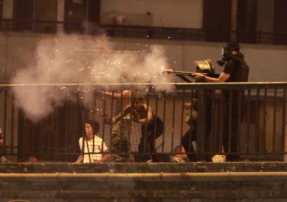Riot Police Cairo