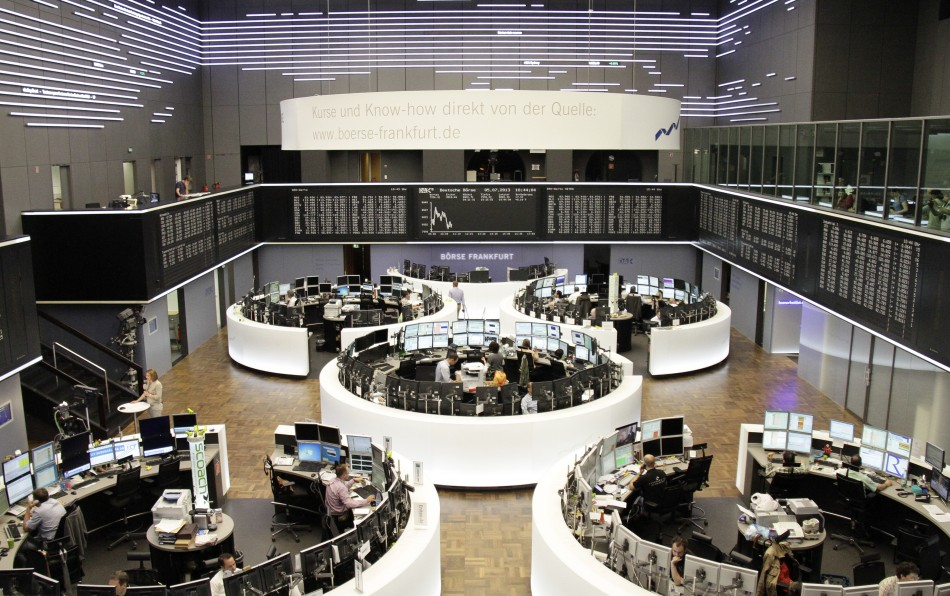 ZEW data pulls down European stock markets on 16 July