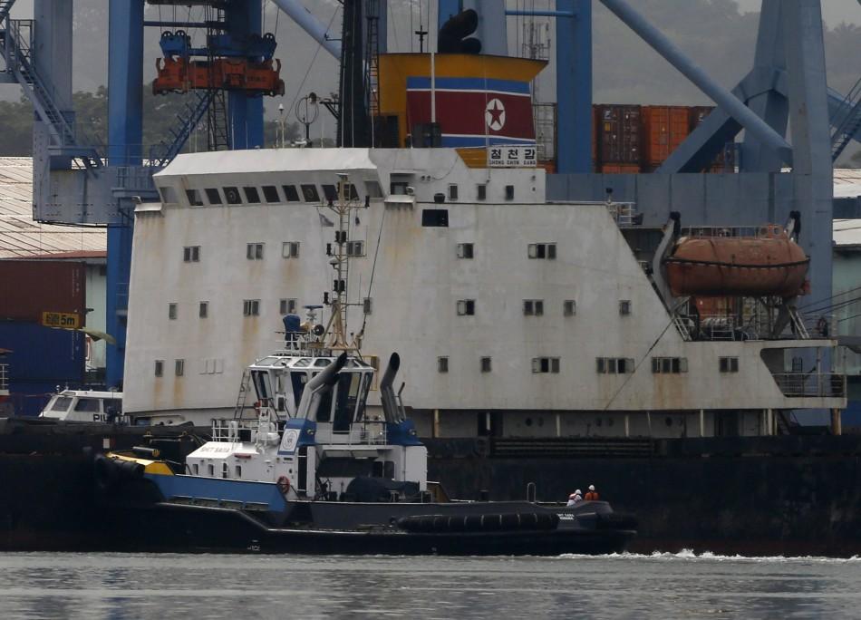 North Korean cargo ship Chong Chon Gang