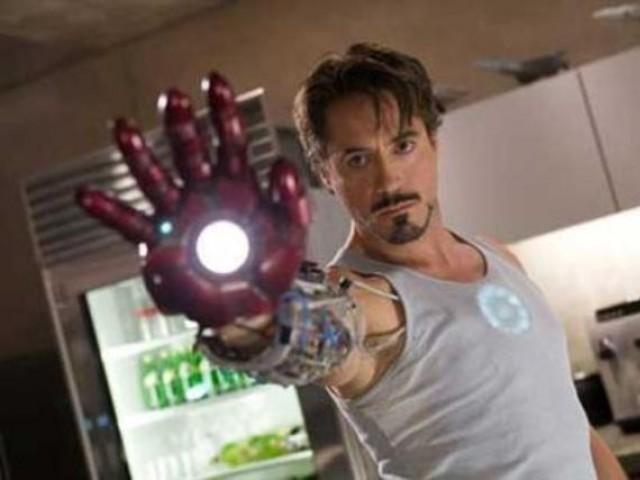 Robert Downey Jr. as Tony Stark in 'Iron Man' series
