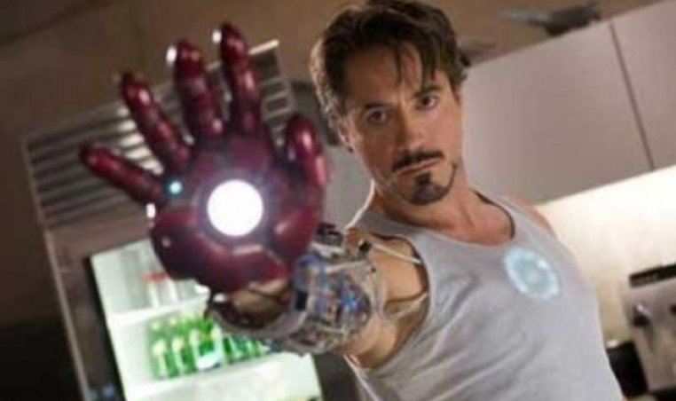 Robert Downey Jr. as Tony Stark in 'Iron Man' series
