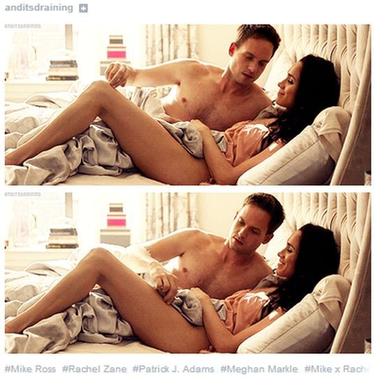Suits Season 3 Premiere: Mike and Rachel Get Sexy