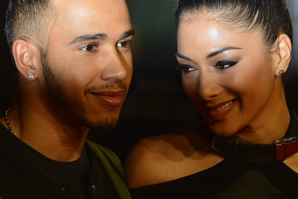 Nicole scherzinger and lewis hamilton rekindle romance at new year