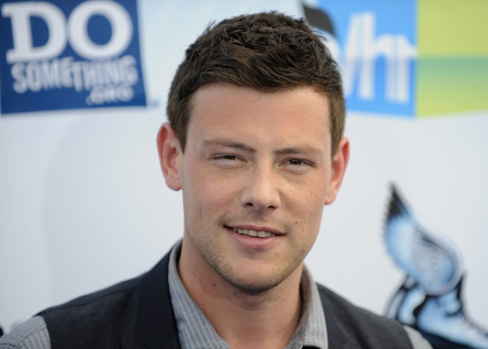 Actor Cory Monteith