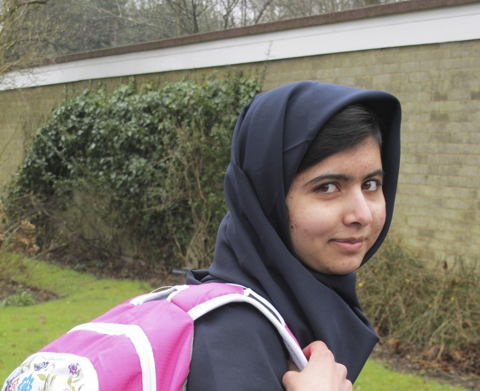 Malala Yousafzai Released From Birmingham Hospital After Taliban Shot Her in Head [PHOTOS]