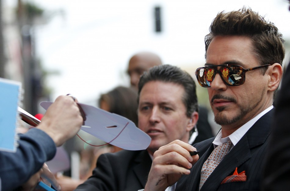 Robert Downey Jr Tops Forbes List With Annual Earnings Of $75 Million, Is Hollywood's Highest-Paid Actor/Reuters