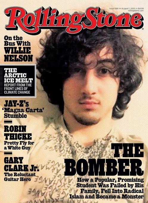 Dzhokhar Tsarnaev Rolling Stones