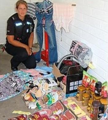 Operation Faction police in Devon haul