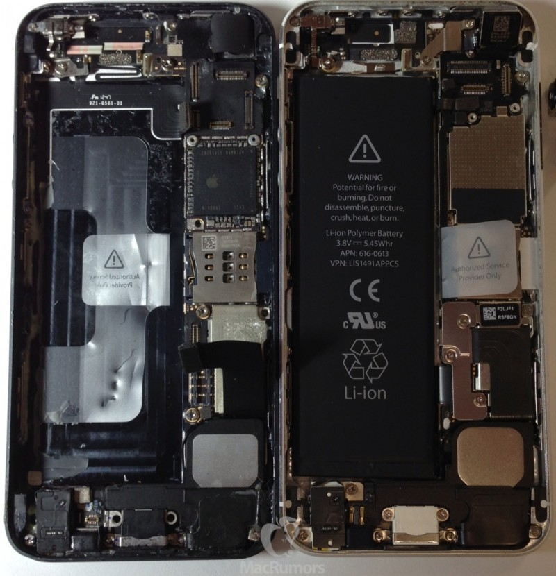 Photo of iPhone 5S Internals