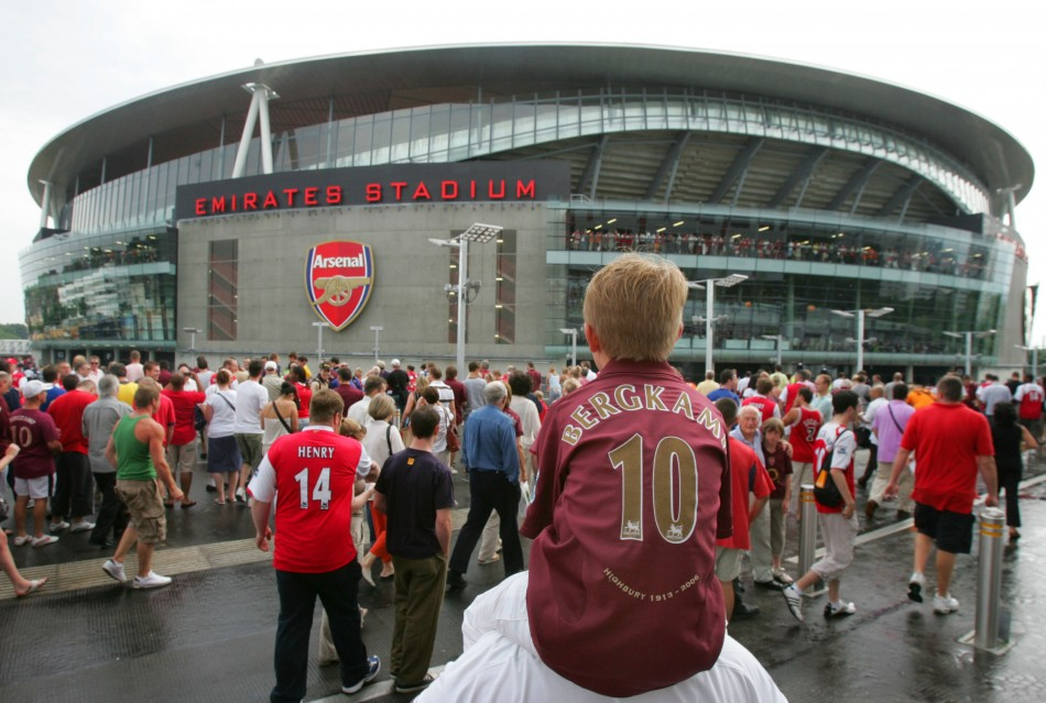 Kosher deal?: Emirates name gets pride of place on Arsenal's stadium