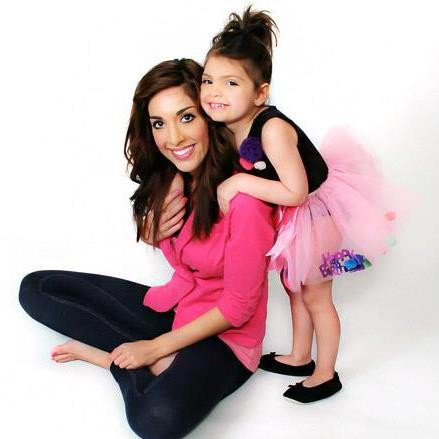 Farrah Abraham with her daughter, Sophia