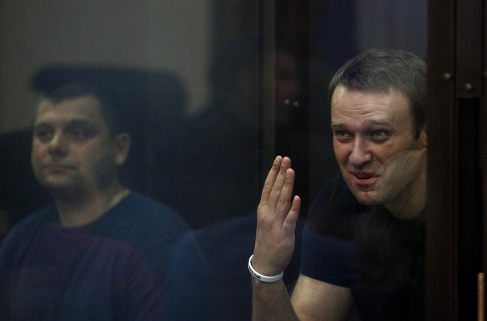 Alexei Navalny freed