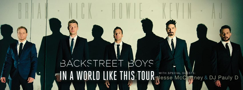 Backstreet's Back: Backstreet Boys Return With New Album In A World Like This/Facebook/Backstreetboy