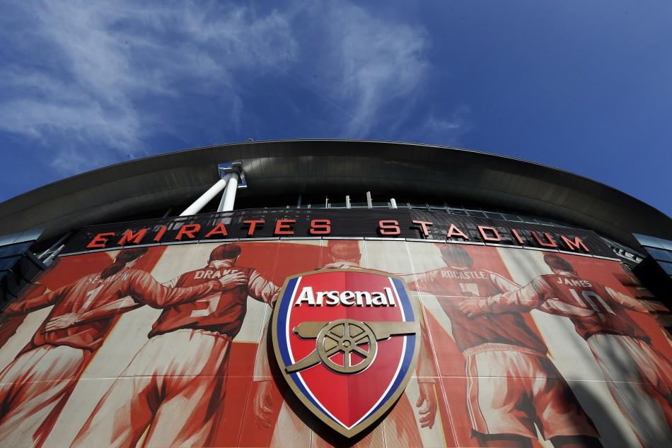 Stadium: Arsenal and Emirates airline have close ties
