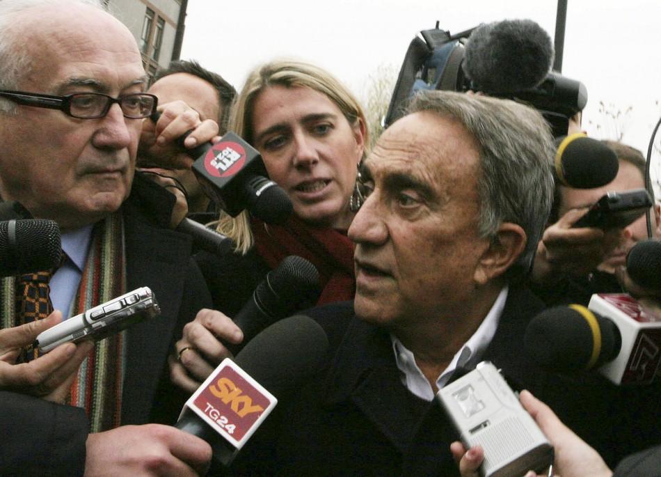 Emilio Fede, an Italian broadcaster and ally of former Italian prime minister Silvio Berlusconi,