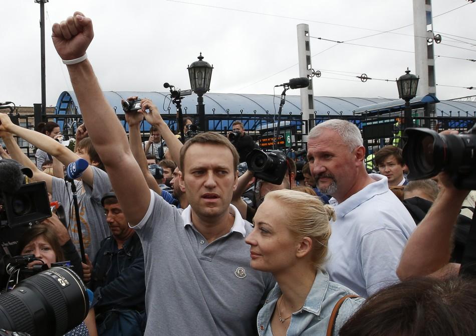 Anti-Putin leader Alexei Navalny