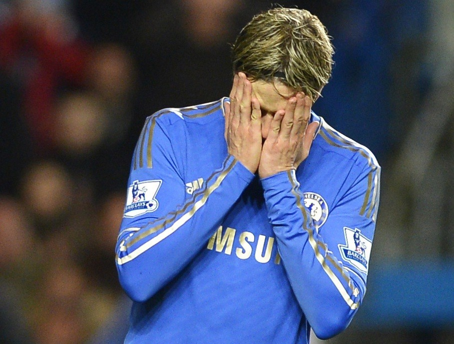 Jose Mourinho has lost faith with Fernando Torres.