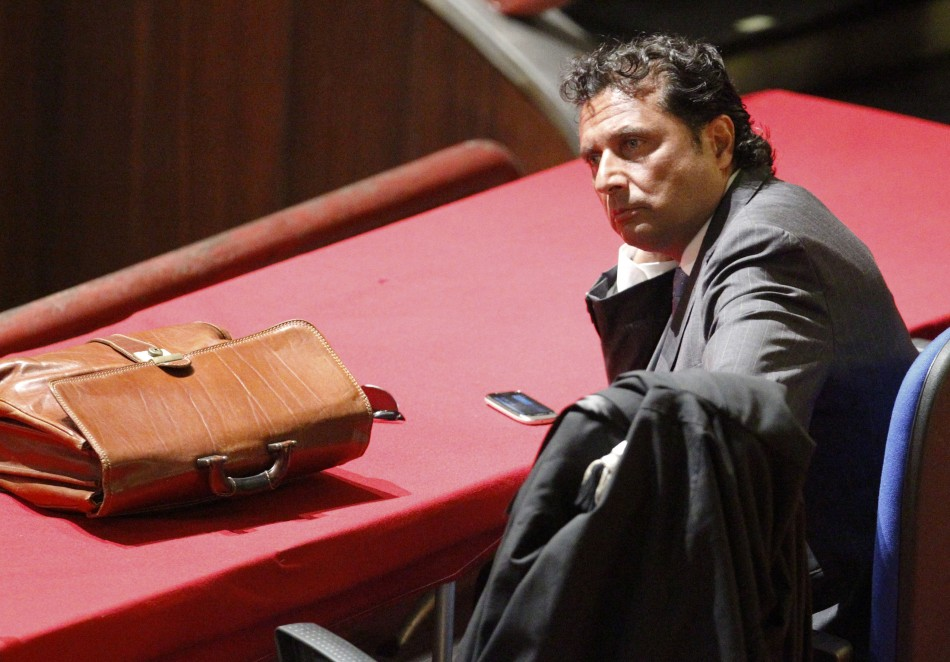 Francesco Schettino, captain of the Costa Concordia cruise liner is accused of abandoning ship before all crew and passengers had been rescued, and charges of manslaughter and causing the loss of his ship