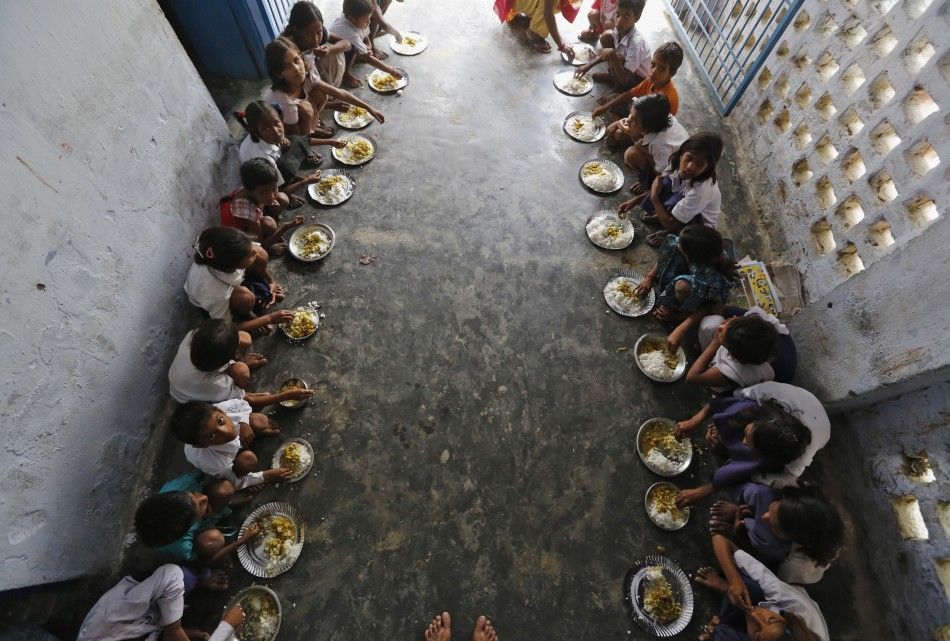 Free mid-day meal