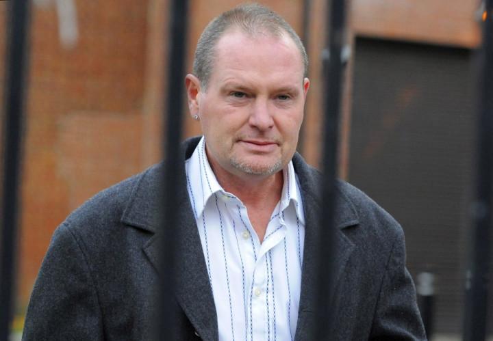 Former footballer Paul Gascoigne