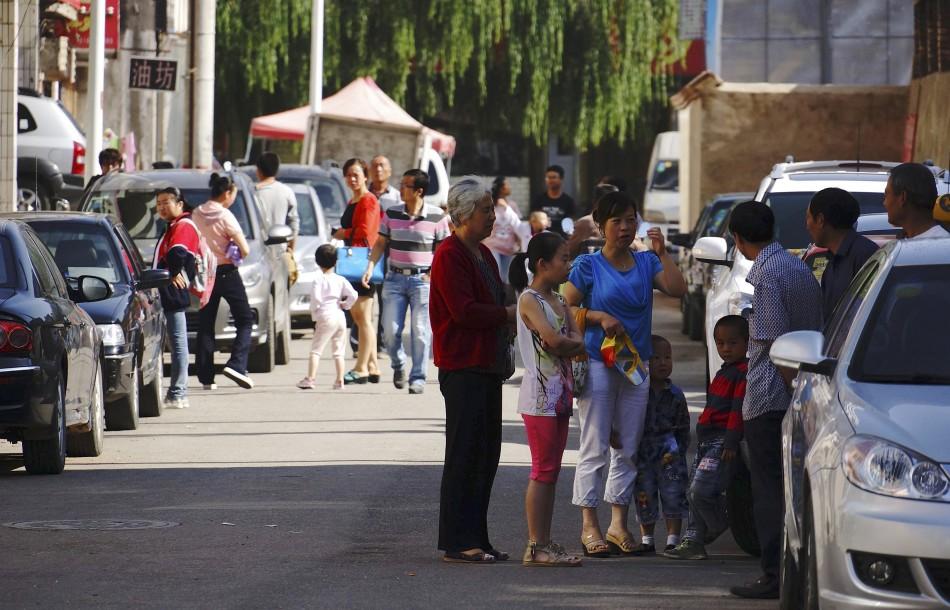 Earthquake strikes China's Gansu province