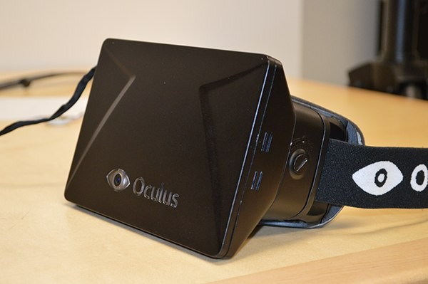 Oculus Rift Developer's Kit (Courtesy: Gamespot)