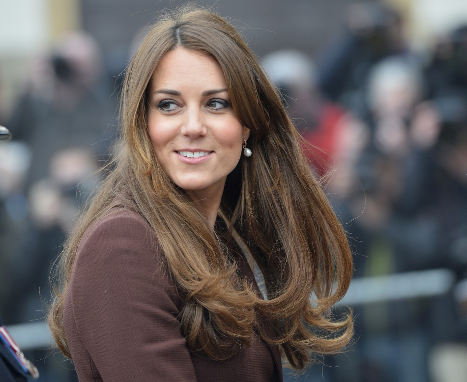 The Duchess of Cambridge is in the early stages of labour in hospital (Reuters)