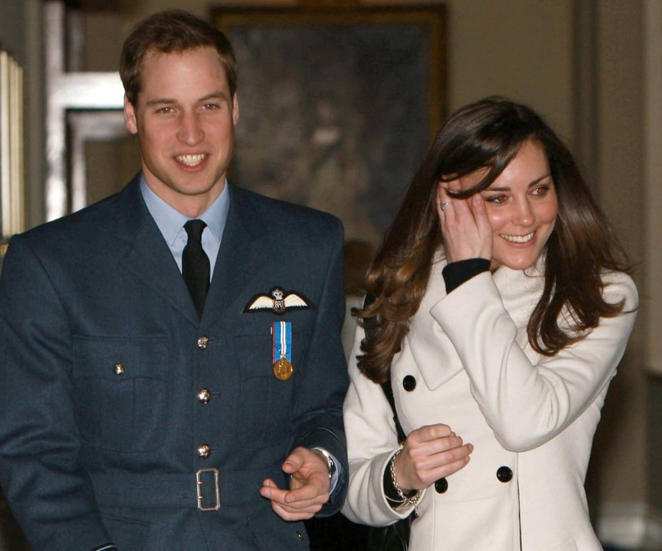 Prince William and Kate began their relationship in 2003 (Reuters)