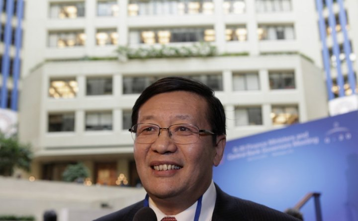 China's Minister of Finance Lou Jiwei
