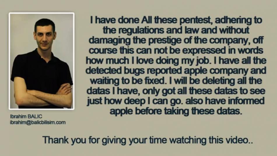 apple developer site breach