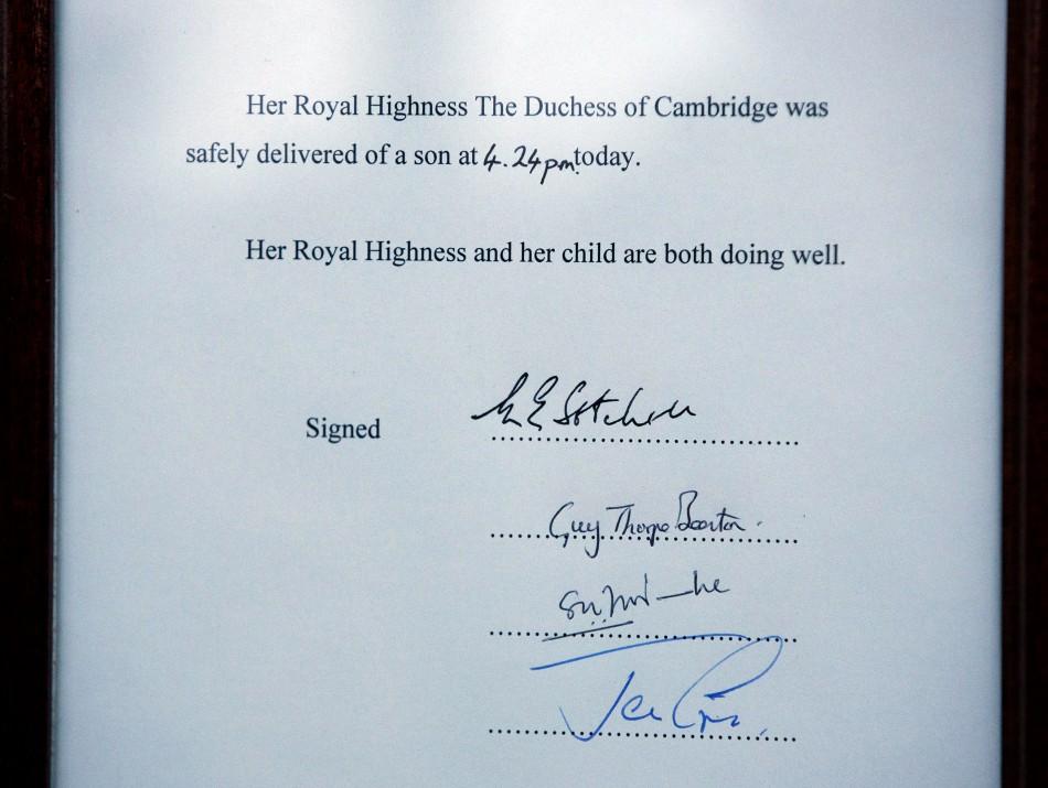 Royal Baby Celebrations