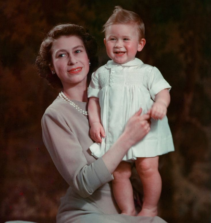 Baby Prince Charles