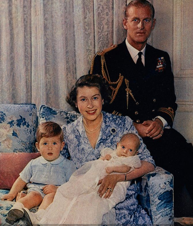 Prince of Wales and The Princess Royal