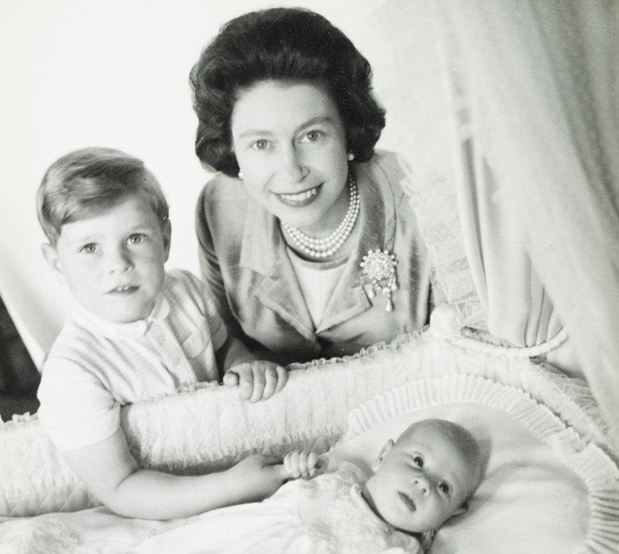 Prince Andrew and Prince Edward