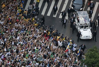 Pope Francis in Rio de Janeiro