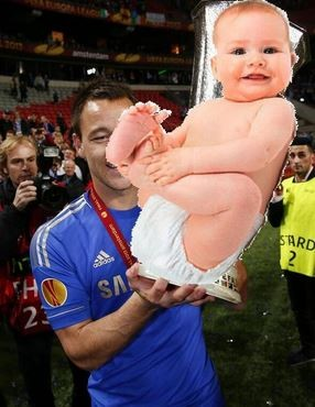 John terry is the first to congratulate the royalbaby