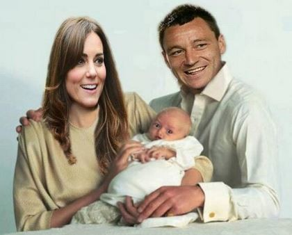 This ones brilliant. The first official picture of royalbabyboy John Terry and Kate royalbabyboy itsaboy