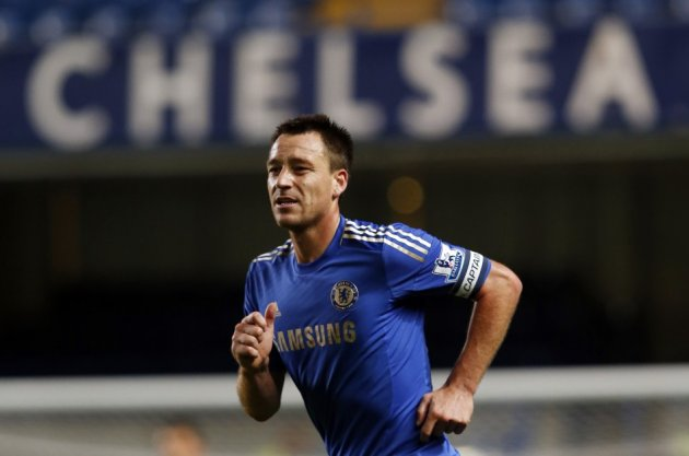 John Terry was cleared of racially abusing Anton Ferdinand during a Premier League match in 2011 (Reuters)