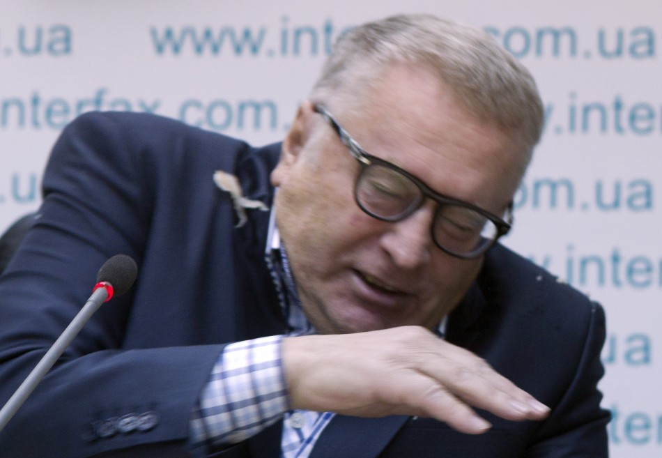 Leader of the Liberal Democratic Party of Russia (LDPR) Vladimir Zhirinovsky