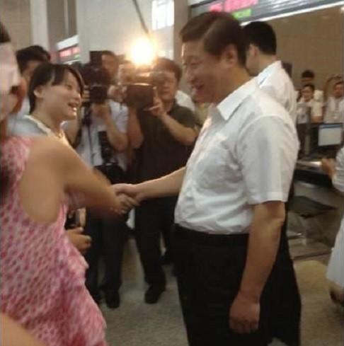 Xi Jinping Guo Tingting Beautiful