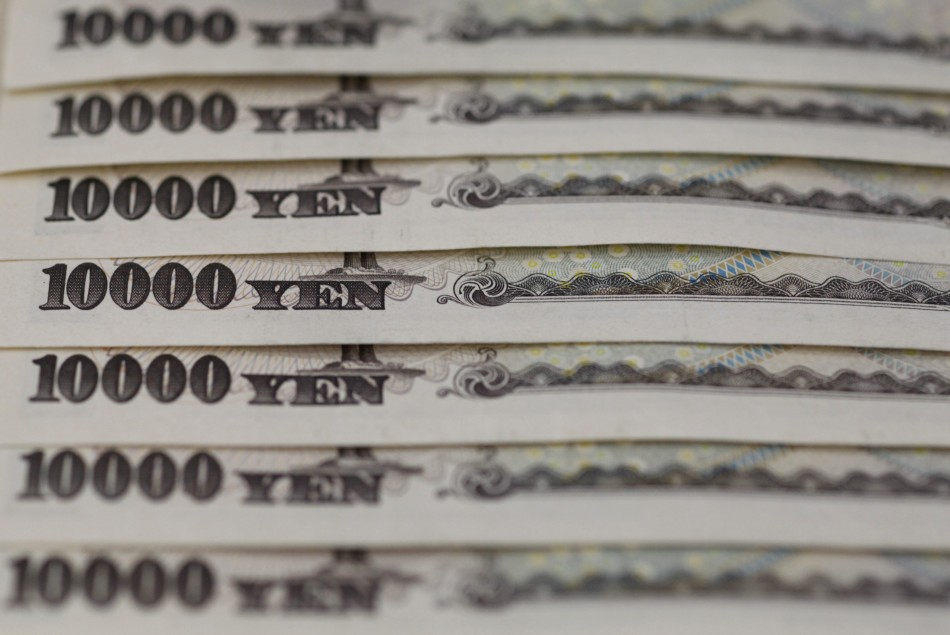Japanese yen weakens 25% against the dollar since November 2012.