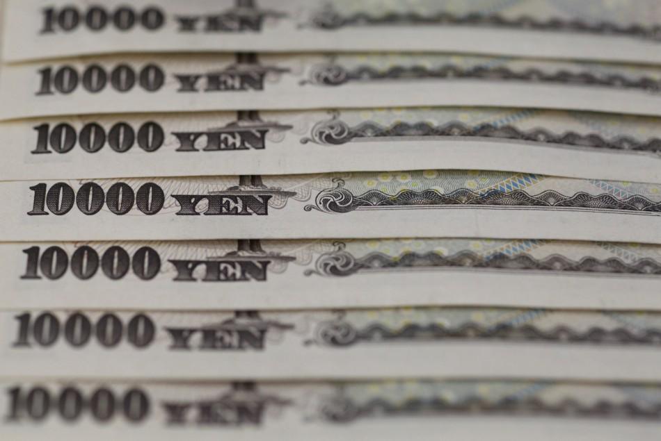 Japanese yen weakens 25% against the dollar since November 2012.