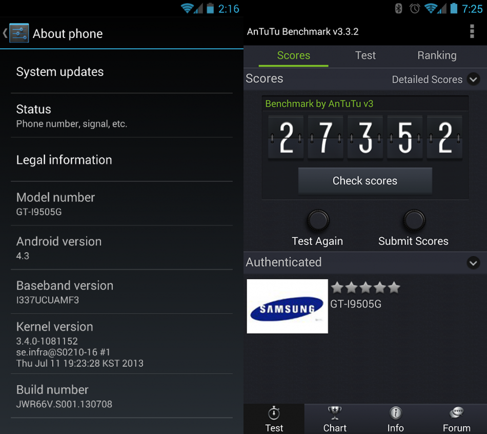 Galaxy S4 GT-I9505 and GT-I9505G Get Android 4.3 Jelly Bean via JWR66V Test Firmware [How to Install]