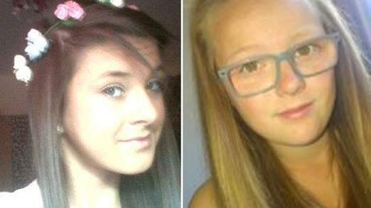Chloe Fowler (L) and Tonibeth Purvis were pulled from the River Year last night (Northumbria Police)