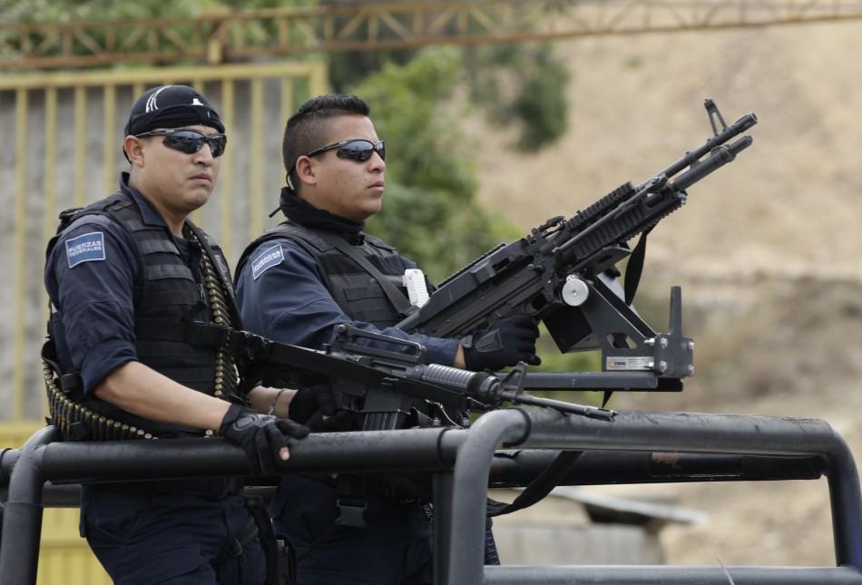 Mexico Federal police Michoacan