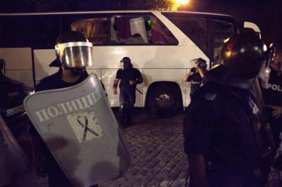 Sofia Police rescue MPs