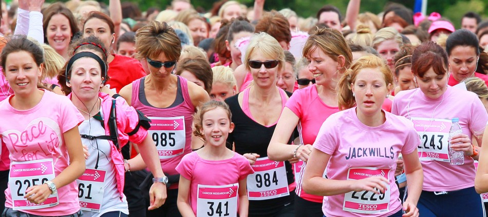 race for life cancer research uk