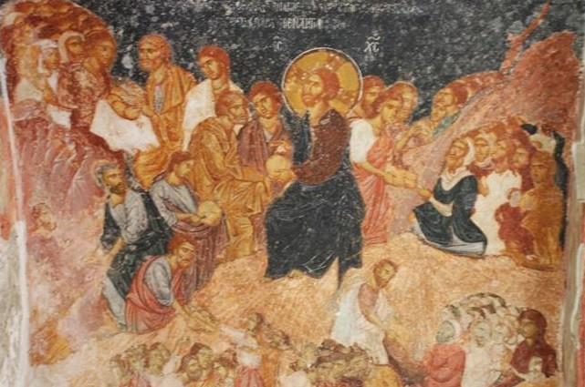 Hagia Sofia Christian fresco