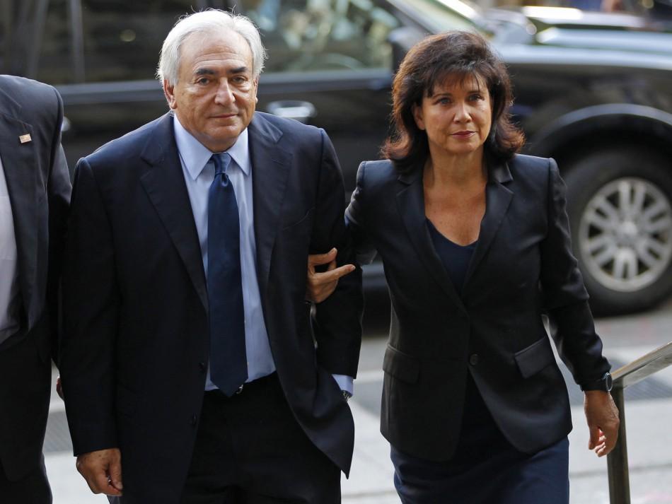 Anne Sinclair & Dominique Strauss-Kahn