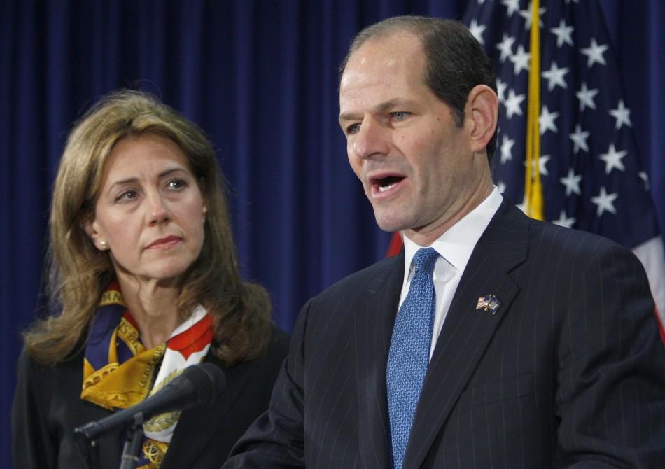 Silda Wall & Eliot Spitzer